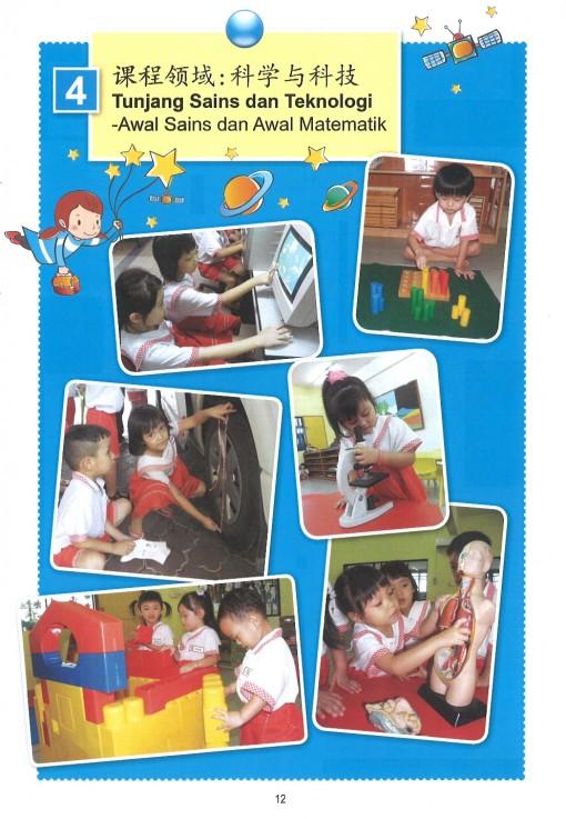四)课程领域 : 科学与科技